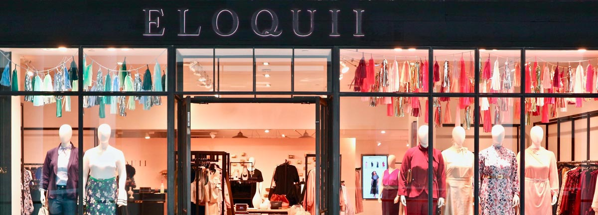 ELOQUII plus size fashion retail stores