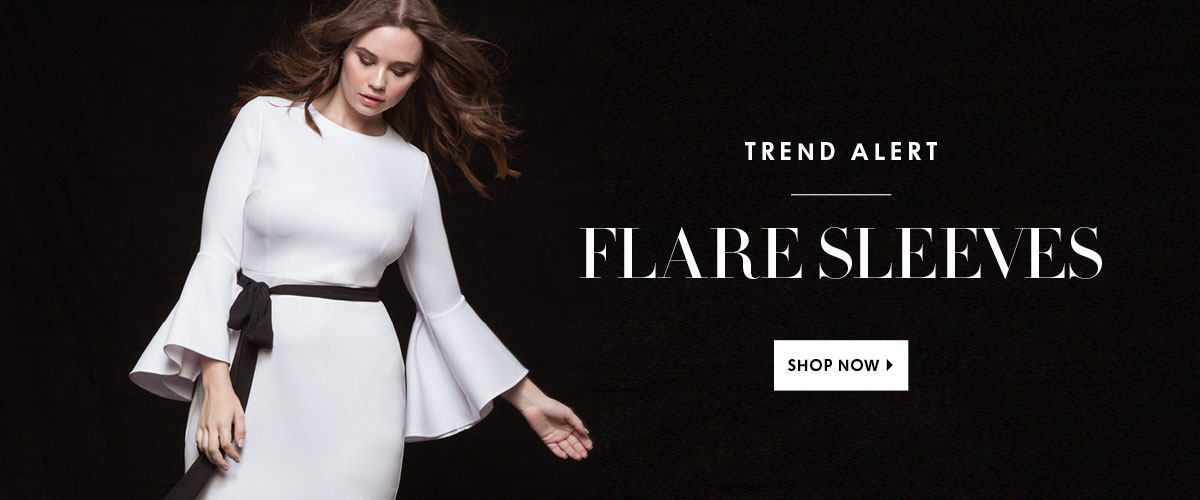 Shop the Trend Flare Sleeves