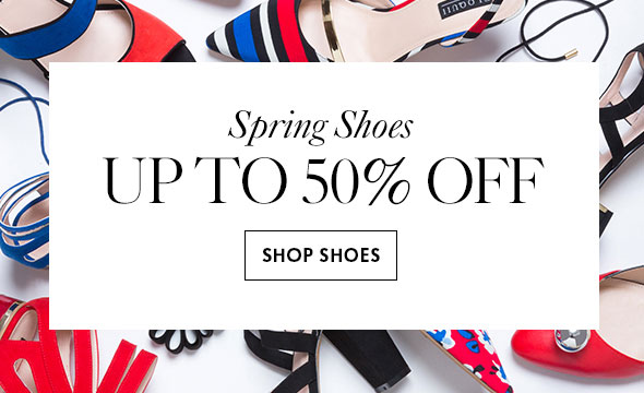 Spring Shoes up to 50% off