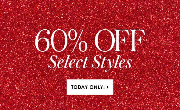 Shop 60 off select styles