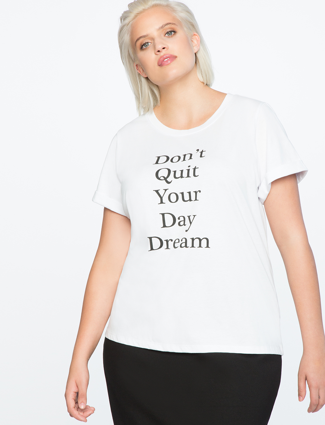 55daf245a Graphic Tee | Women's Plus Size Tops | ELOQUII