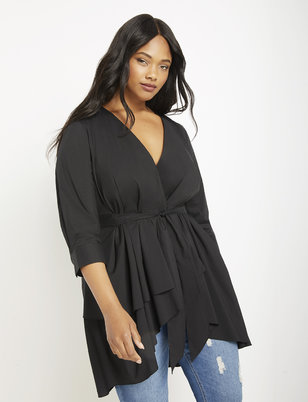 8813f9a8 Plus Size Tops: Blouses & Shirts   ELOQUII