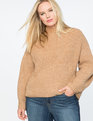 Puff Sleeve Sweater Camel