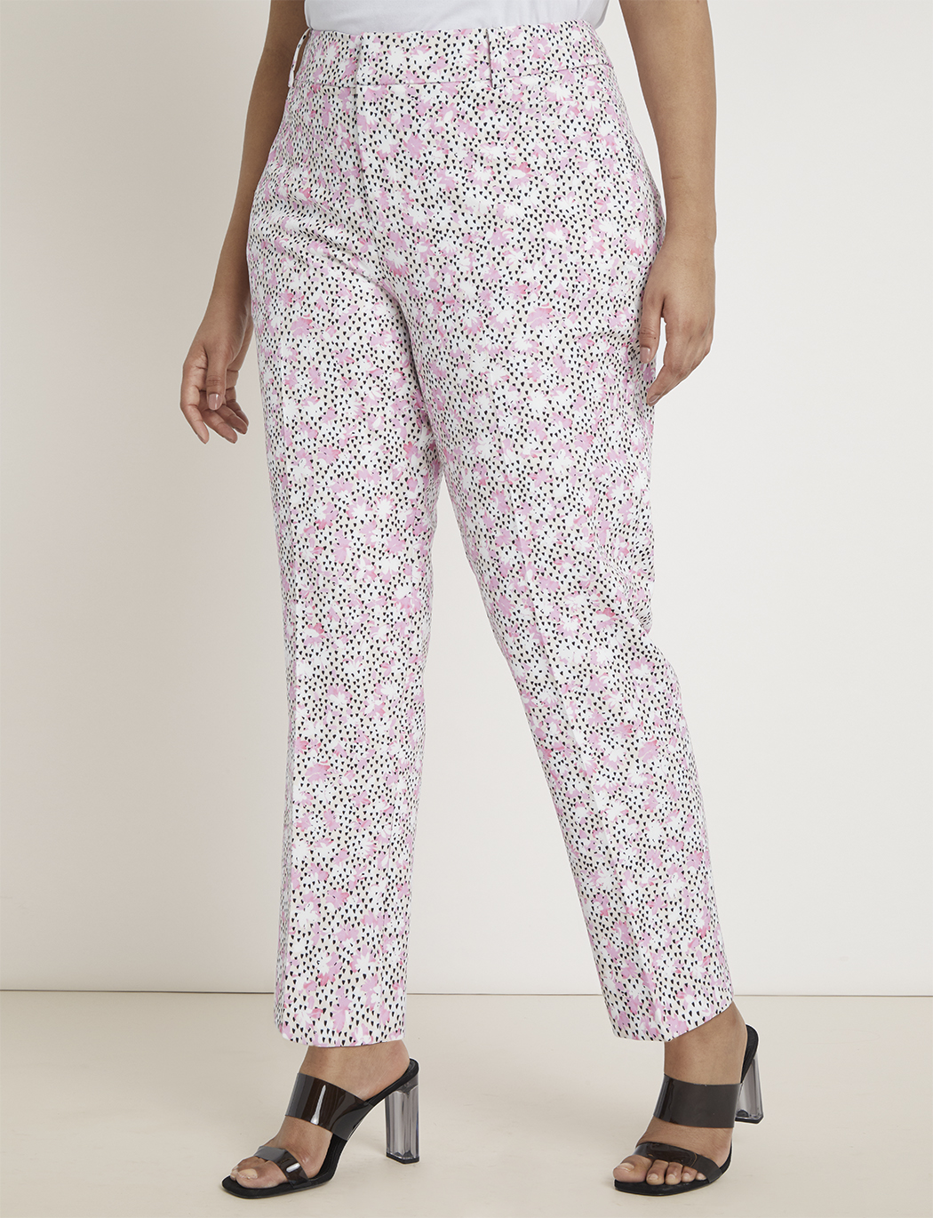Kady Fit Printed Trouser