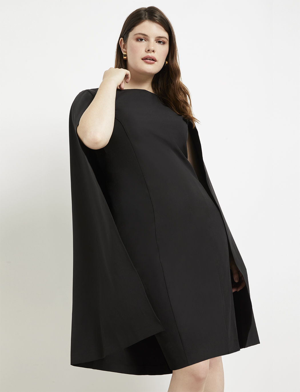 Studio Cape Dress