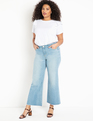 Kick Flare Leg Jeans Light Wash