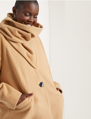 Coat with Scarf