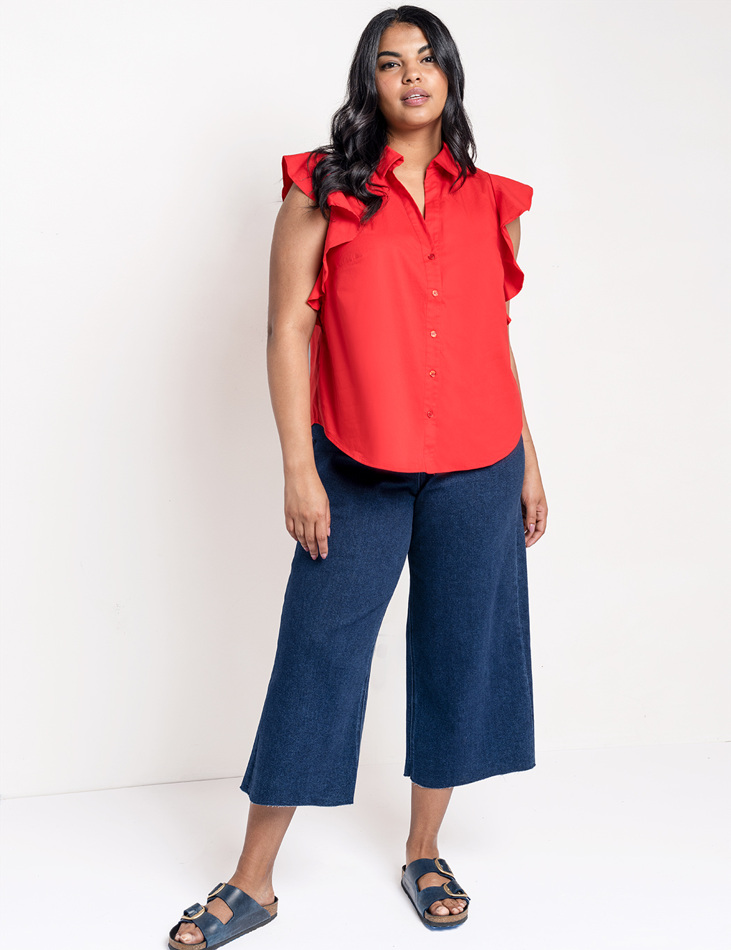 Flutter Sleeve with Collar