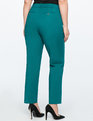 Kady Fit Double-Weave Pant Palm Green