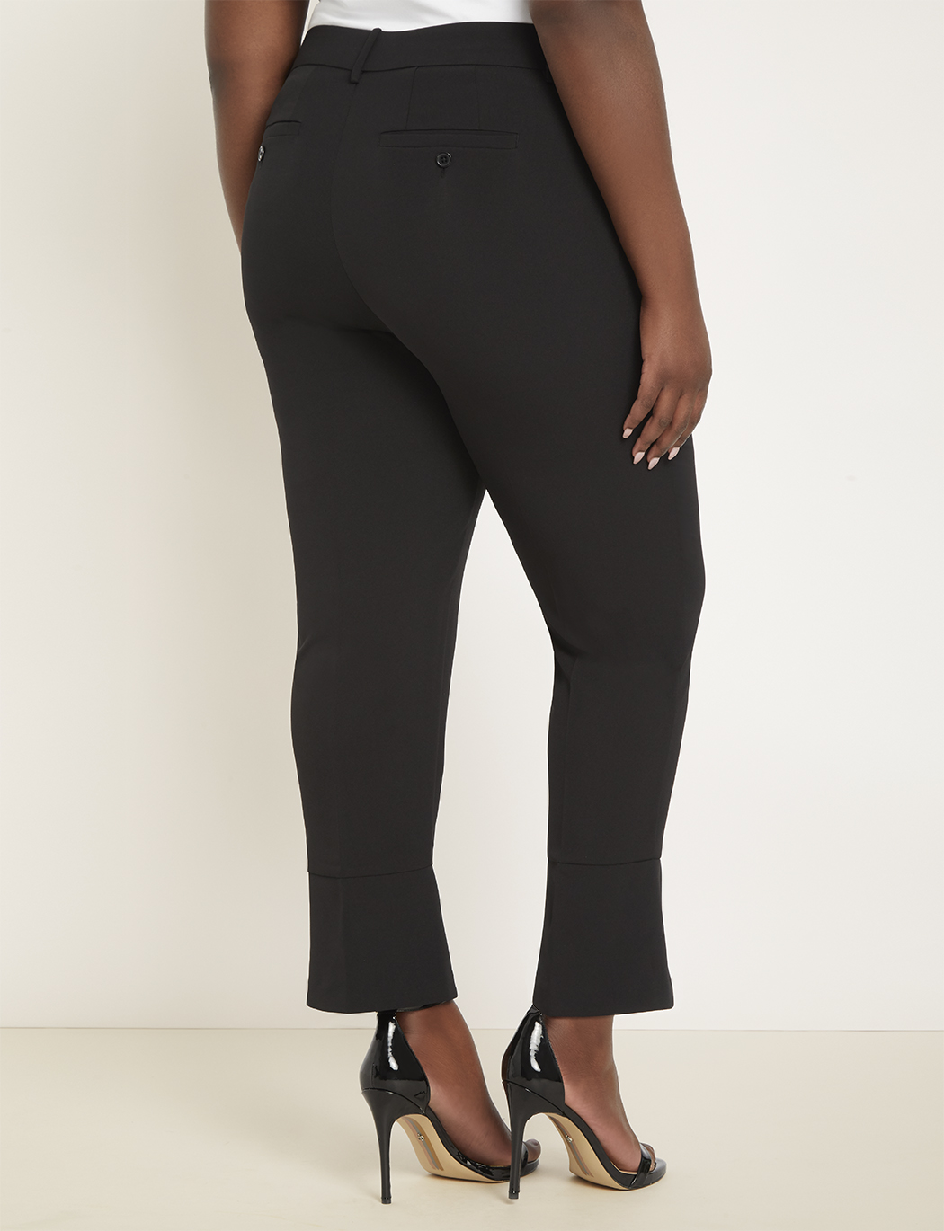 Cuff Detail Ankle Trouser