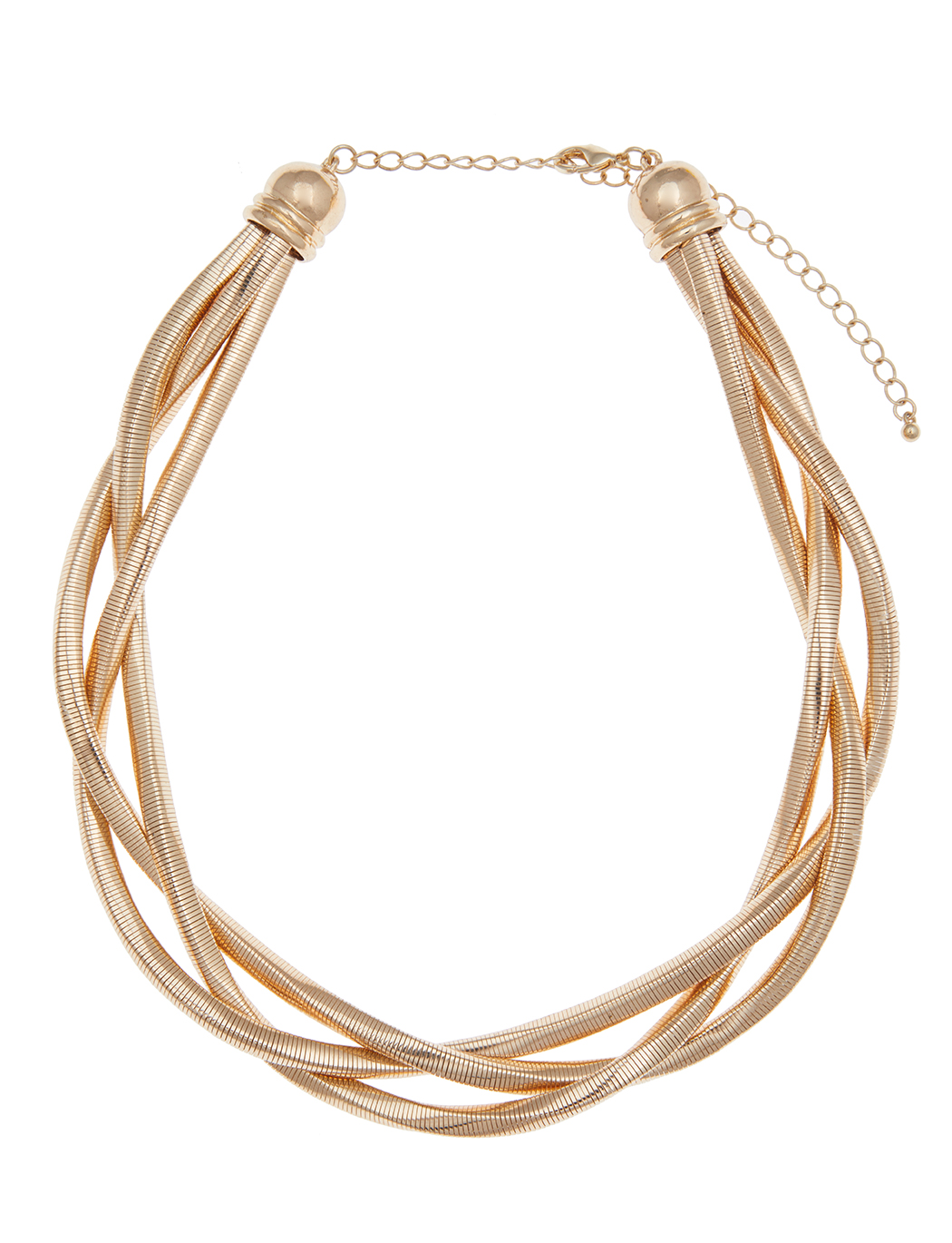 Braided Square Chain Necklace