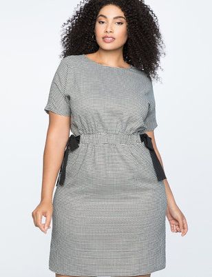 Tie Waist Easy Tee Dress
