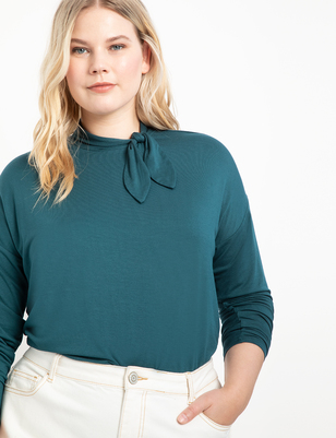 Tie Neck Top