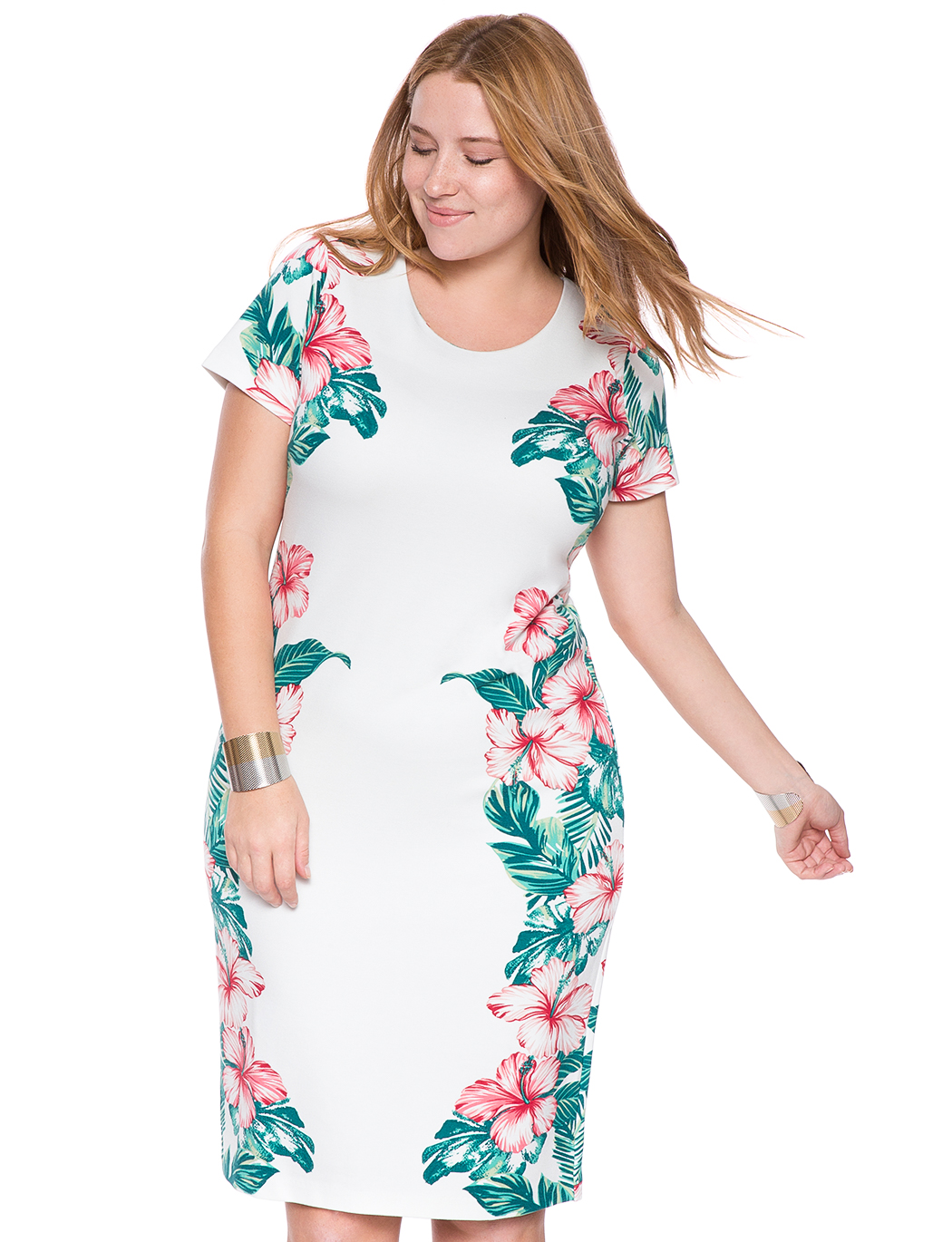 Womens Hawaiian Dresses Plus Size