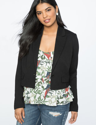 Cross Back Blazer