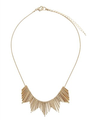 Fringed Bar Necklace