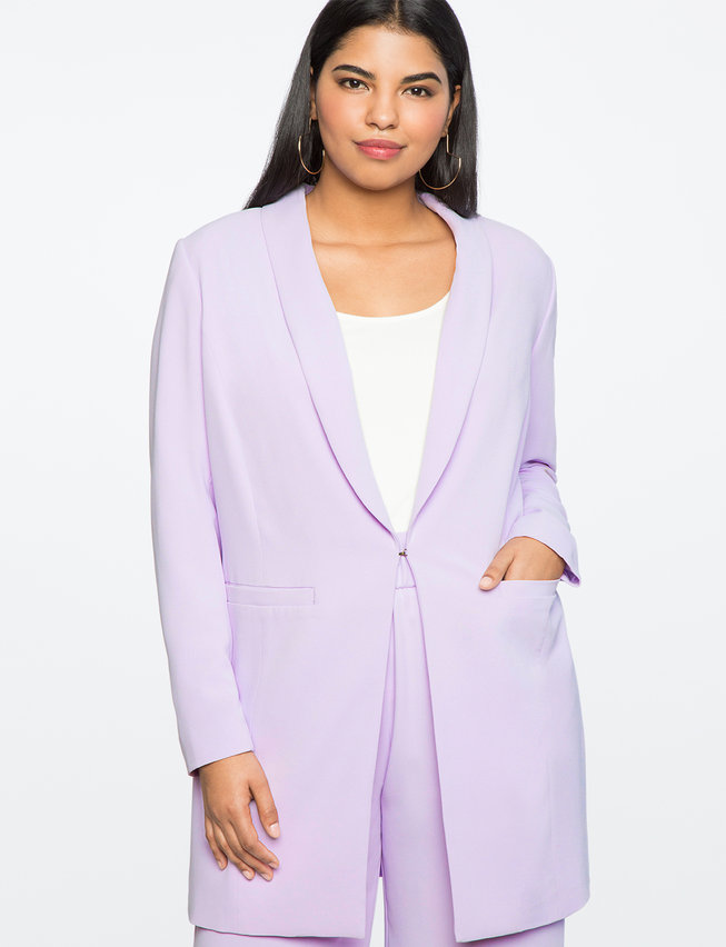 Long Tailored Blazer by Eloquii