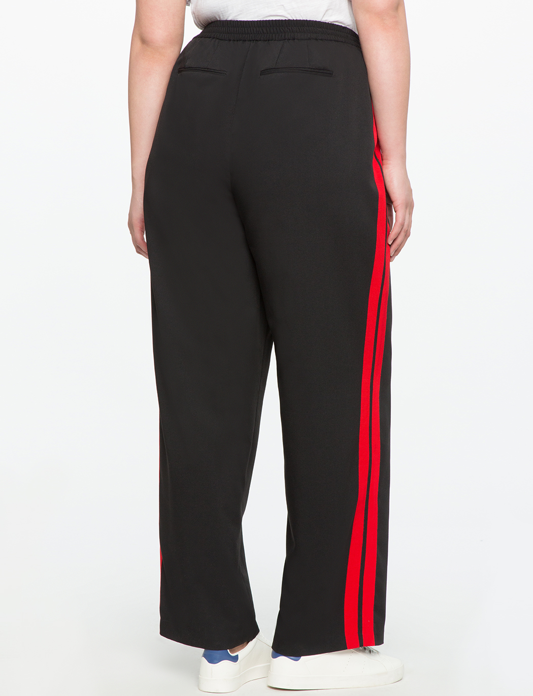 Side Stripe Track Pant Women S Plus Size Pants Eloquii