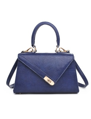 Asymmetric Textured Bag - Extended Length