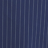 Navy and White Pinstripe