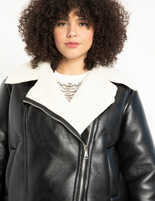 Shearling Faced Jacket