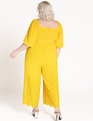 Embroidered Hem Jumpsuit Citrus