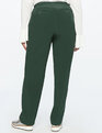 Sam Straight Leg Crepe Pant Bloodstone Green