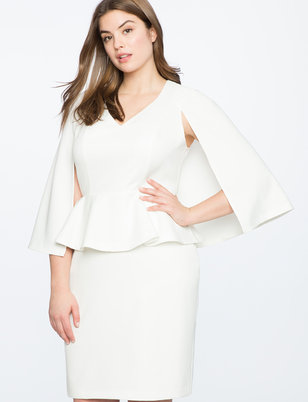 plus size white dresses | eloquii
