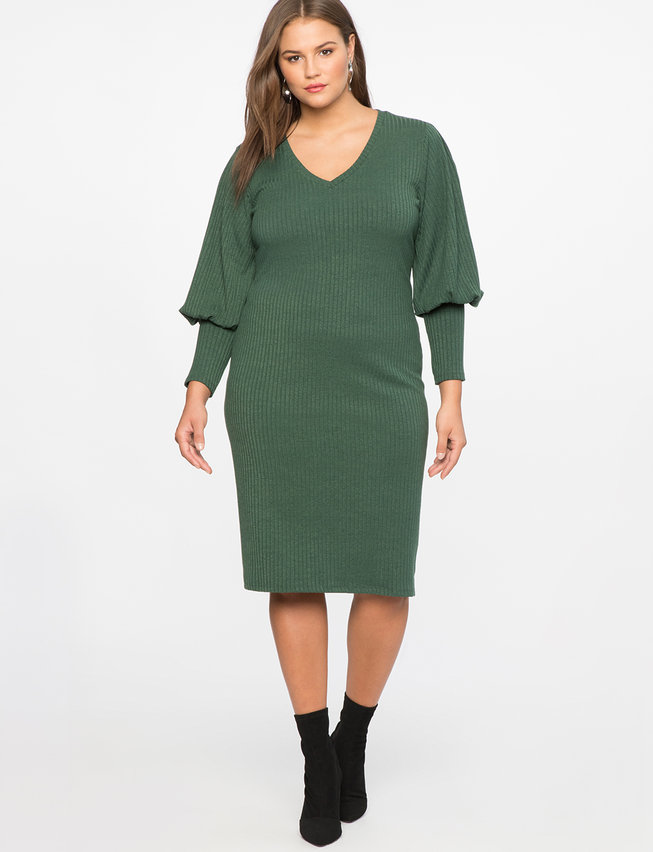 Iconic Puff Sleeve Dress