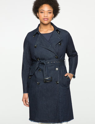 Studio Denim Trench Coat