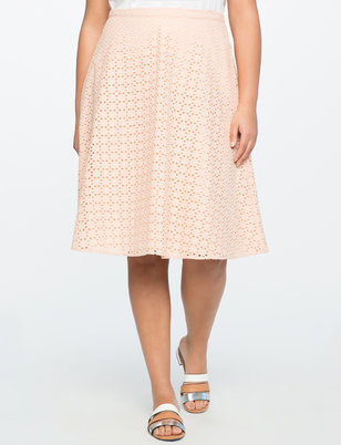 Gillian Eyelet Skirt