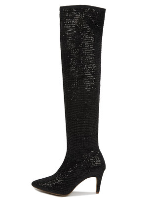Sequin Amelia Over The Knee Boot