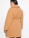 Boucle Teddy Coat Tan