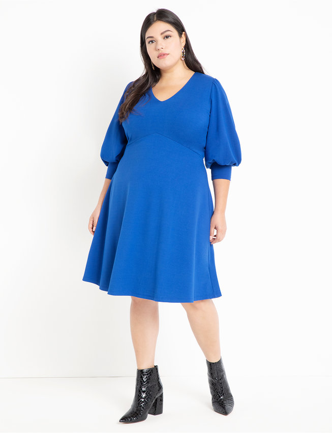 Full Sleeve A-Line Dress