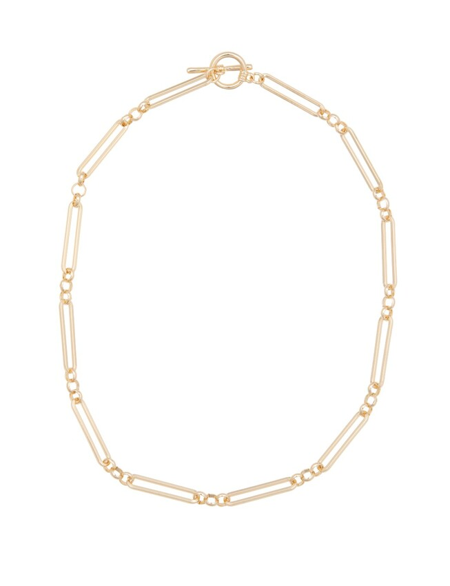 Toggle Clasp Chain Necklace