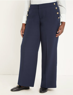 Button Detail Trouser