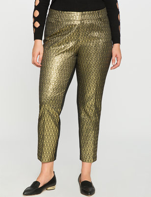 Studio Kady Fit Brocade Pant