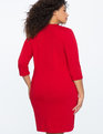 3/4 Sleeve Essential Tee Dress JESTER RED