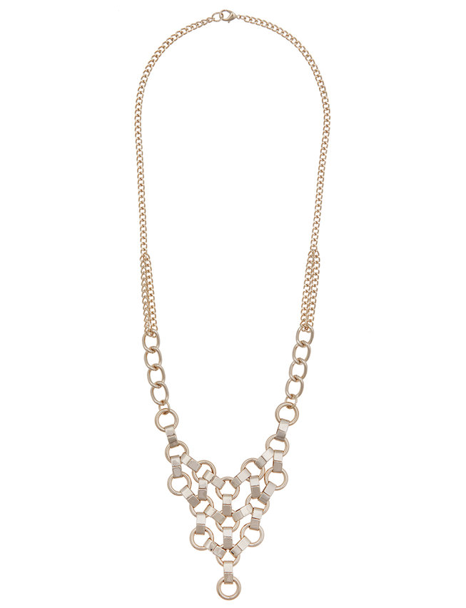 Chainmaille Statement Necklace