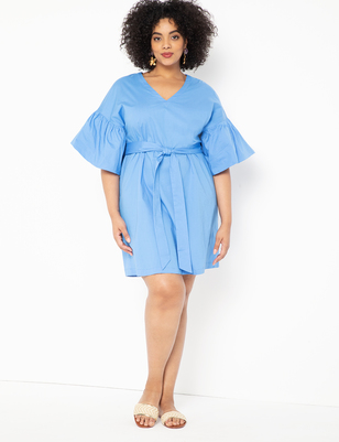 Bubble Sleeve Dress