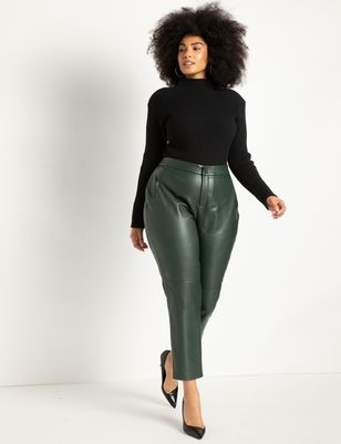Slim Faux Leather Pant