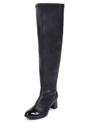 Erika Faux Leather Over the Knee Boot