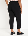 Cropped Pant with Cuff Black