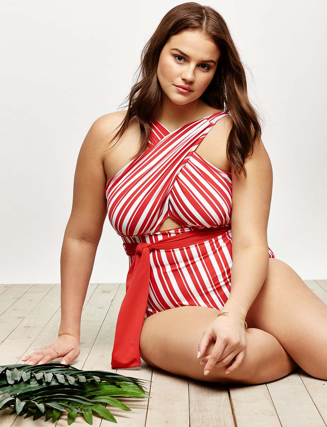 Wrap Halter One-Piece Swimsuit