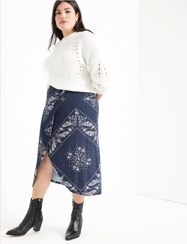 Printed Soft Skirt