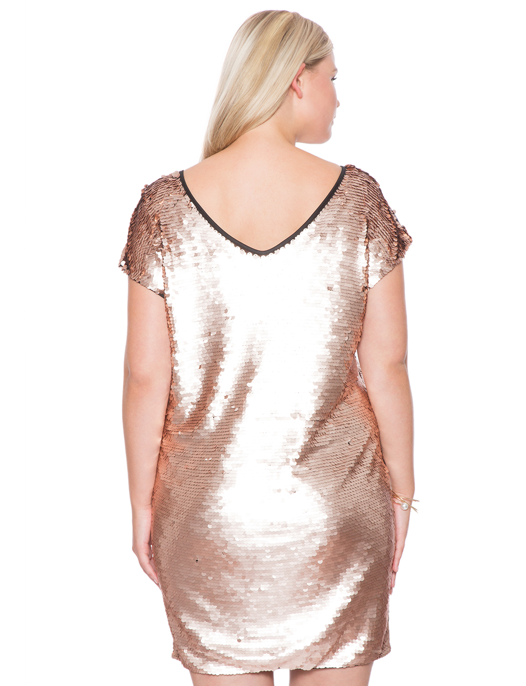 Studio Sequin Shift Dress