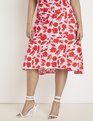 Floral Midi Skirt Oh So Pretty Floral