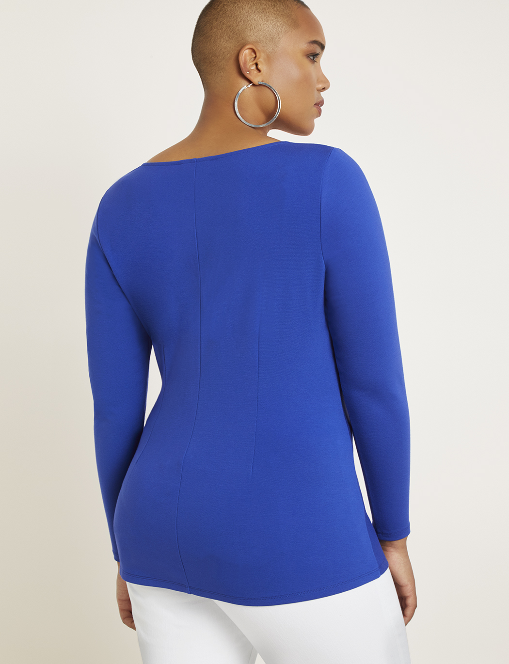 Long Sleeve Twist Top