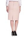 Faux Leather Pencil Skirt Peachy