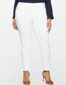 Kady Fit Double-Weave Pant True White